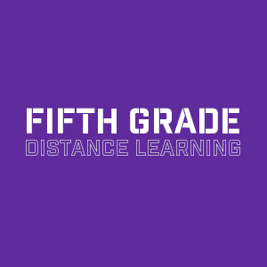 Fifth grade  distance learning