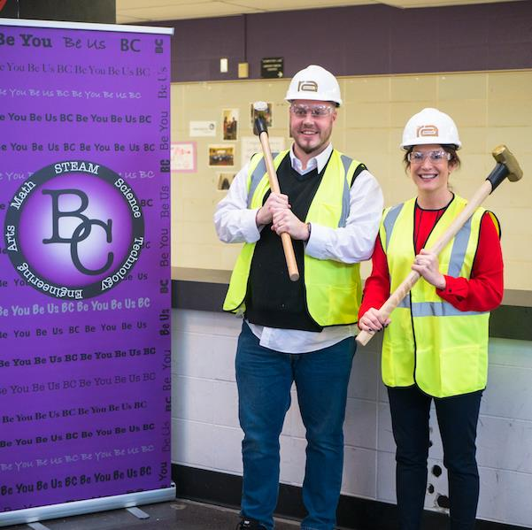 Groundbreaking event held for BCS construction
