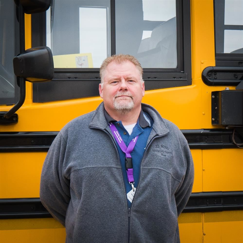 Centaur Staff Recognition – Dave Paulson, bus driver and custodian at BCS