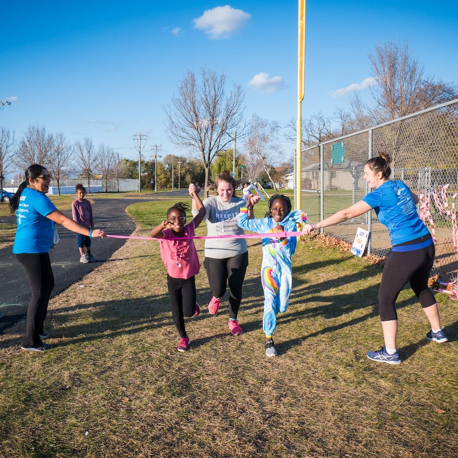 Elementary, middle school students learn confidence through running club