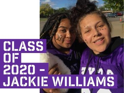 Class of 2020 - Jackie Williams