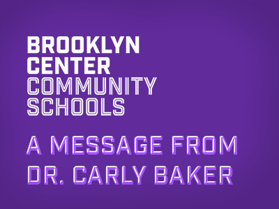 A message from Dr. Baker
