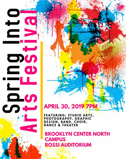 Spring into Arts Festival flyer