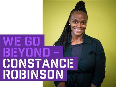 We Go Beyond Constance Robinson