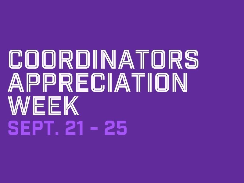BCCS celebrates Coordinators Appreciation Week