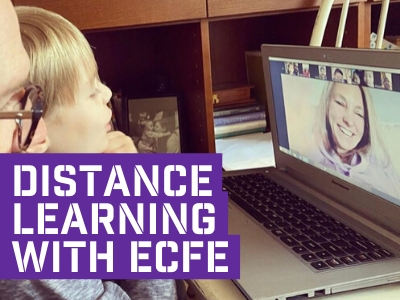 ECFE team goes the distance for young learners