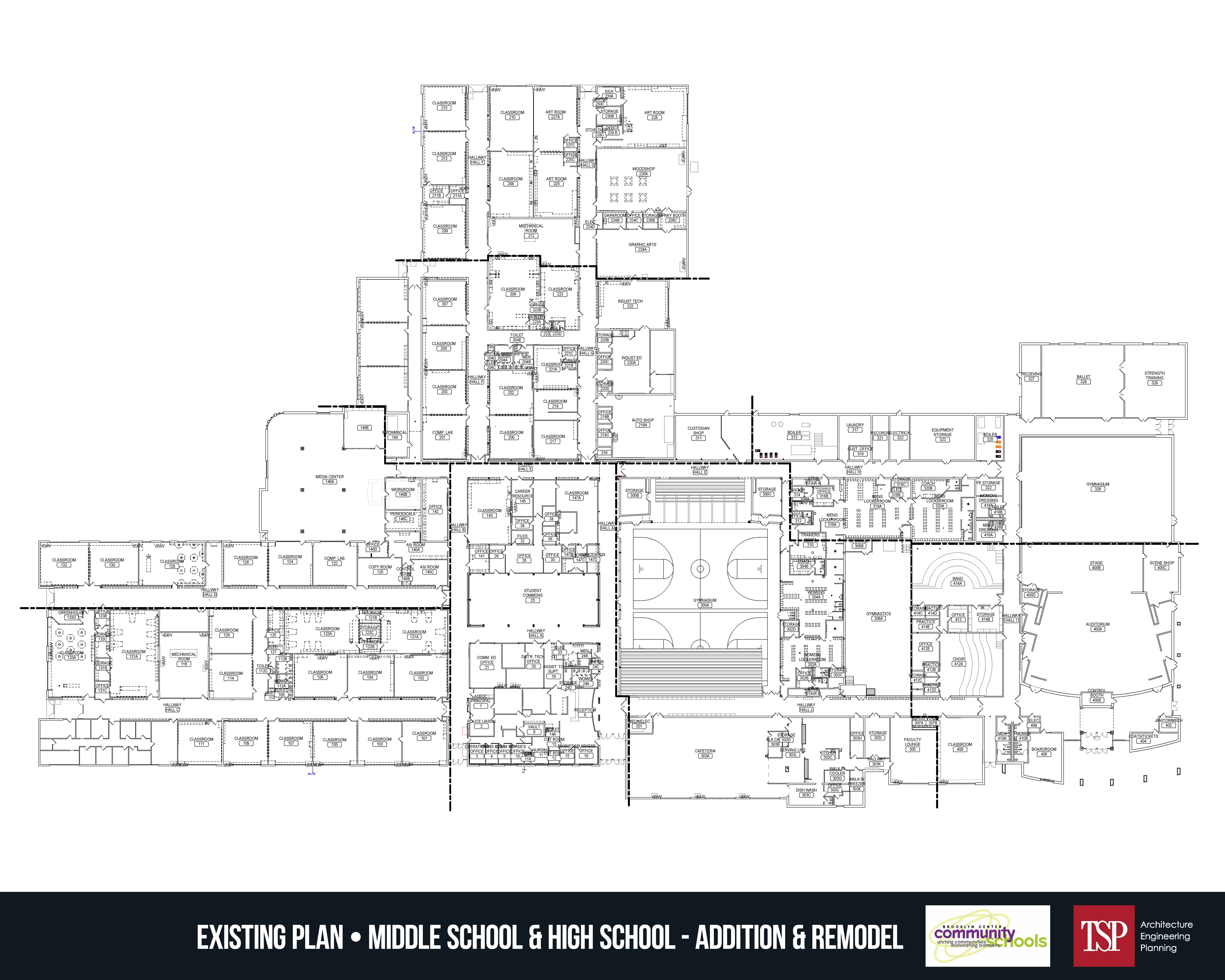 BCS Current Floor Plan